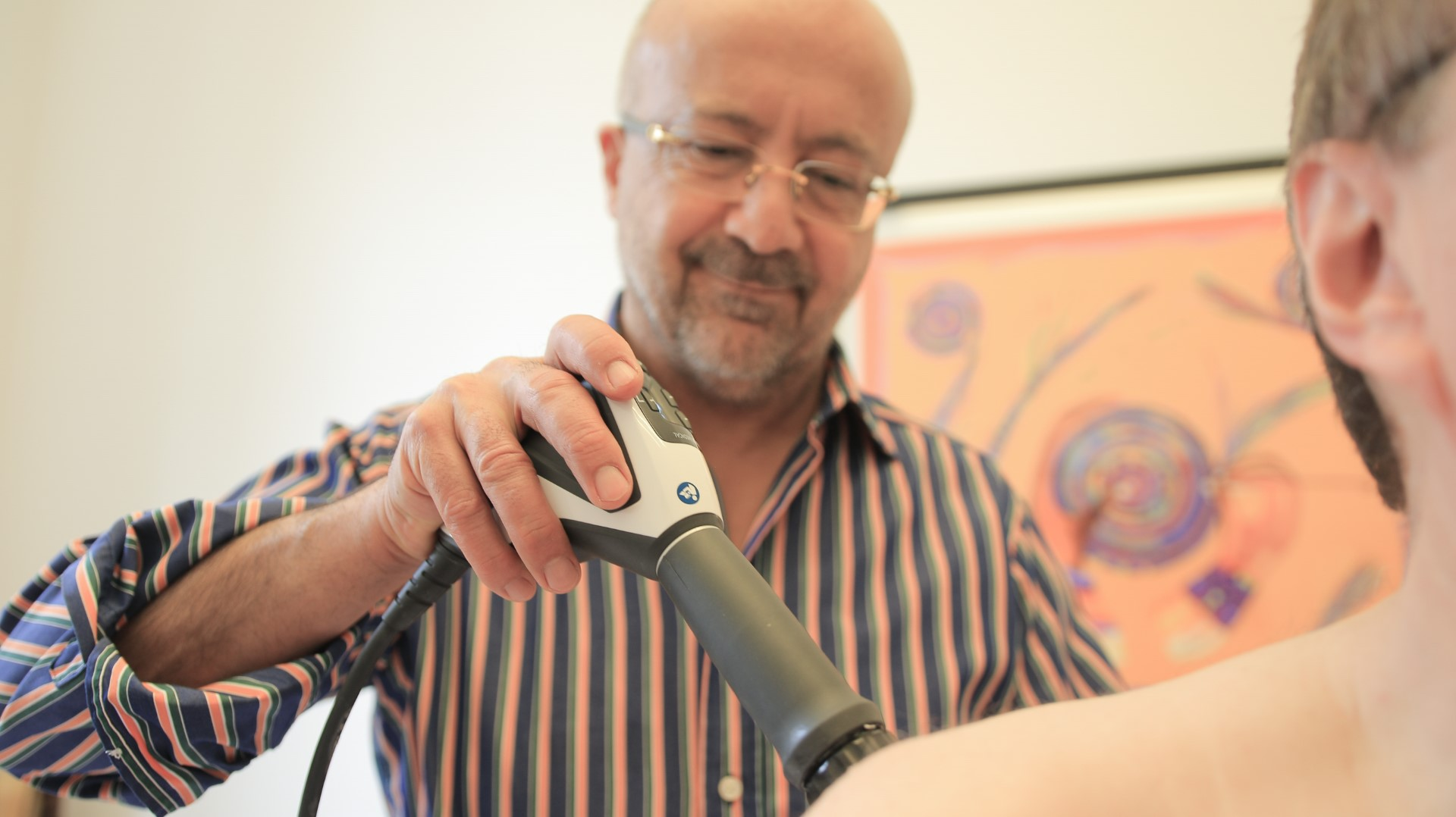 Radiale Stoßwellentherapie Behandlung