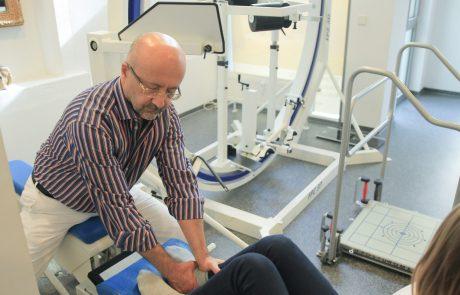 Physikalische und apparative Medizin - Biomechanische Stimulation (Vibrationssystem)