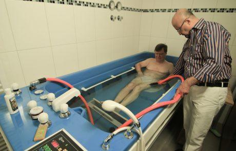 Stangerbad und Unterwasserdruckstrahlmassage